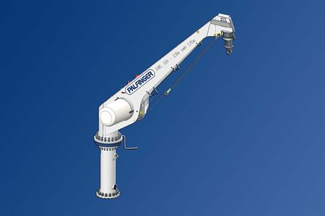 Palfinger will supply 150 cranes to the Gemini project