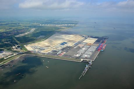 Wilhelmshaven Port, Germany