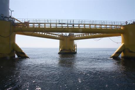 The ETI said a greater focus was needed in developing floating foundations (pic: US Department of Energy)