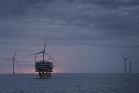 Newly commissioned offshore wind projects, including Race Bank, boosted Ørsted's profits