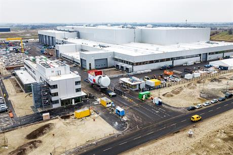 SGRE will build a blade and nacelle factory like this one in Cuxhaven, Germany