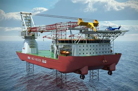 Seajack's Scylla vessel is currently under construction in South Korea