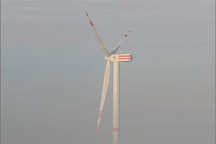 The existing 6.2MW turbine has a 126-metre rotor