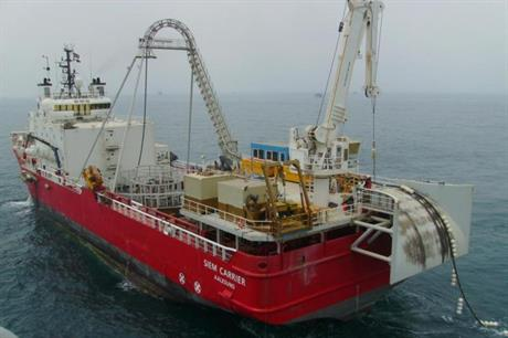 Siem Offshore will carry out the cable installation at Veja Mate