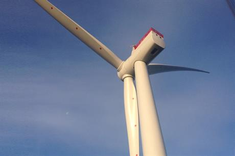 The first Siemens 6MW turbine has been installed at Westermost Rough