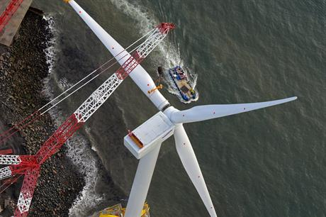Samsung has installed a prototype 7MW offshore turbine in Scotland