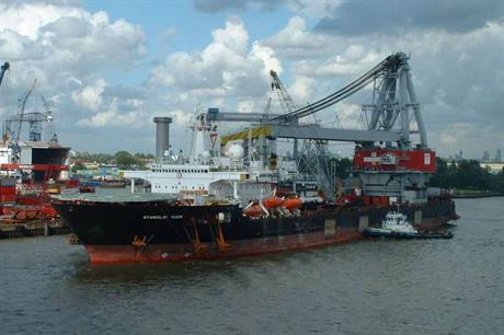 Seaway will use its Stanislav Yudin crane vessel to install the substation