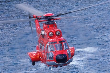 Super Puma helicopter AS 332 L2 (Photo credit Patrick Penna, Eurocopter)