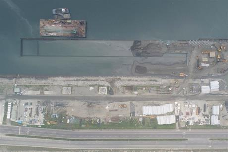 Taichung Port, where Siemens Gamesa's nacelle assembly facility site will be built (pic credit: Taiwan International Ports Corporation)
