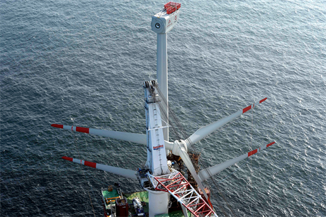 Turbine installation at Borkum West II was completed in August