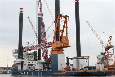 Van Oord's new Aeolus jack up vessel will be used on Gemini