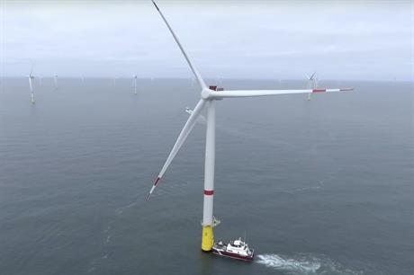 Copenhagen Infrastructure Partners has been involved in a number of European offshore wind projects including Veja Mate