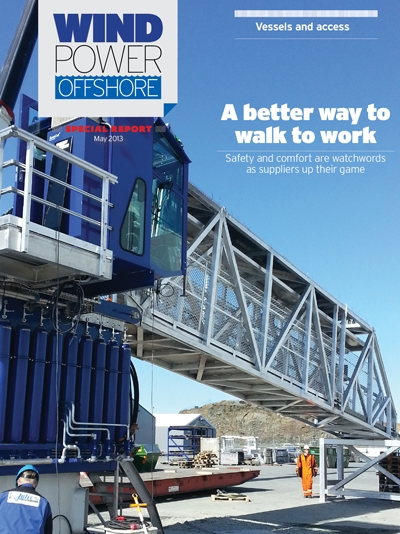 Windpower Offshore special report - Vessels & Access - A better way to walk to work