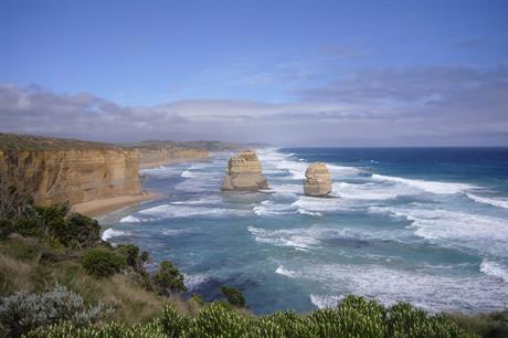 The Victorian coast could be home to Australia's first offshore wind project (pic: Alpapad/Wikimedia Commons)