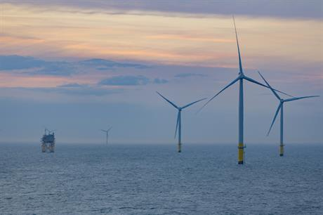 Walney Extension had achieved first power in September 2017 and its final turbine was installed in April 2018 (pic: Ørsted)
