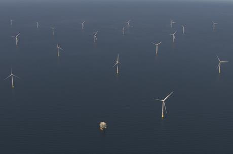 Ørsted's 659MW Walney Extension wind farm off the Cumbrian coast in north-west England