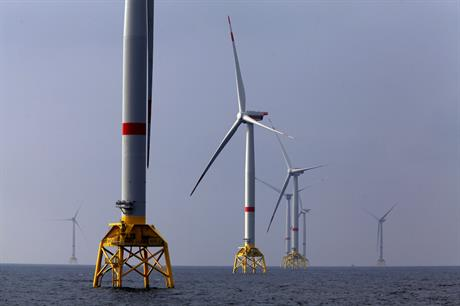 The Element One pilot project would convert output from wind farms in the German North Sea to gas (pic: Iberdrola)