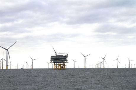 The transmission assets for West of Duddon Sands have been sold to Macquarie and 3i