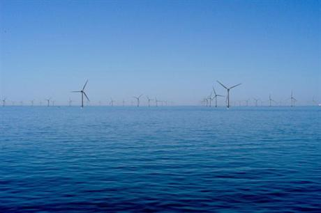 A rendering of the Cape Wind project
