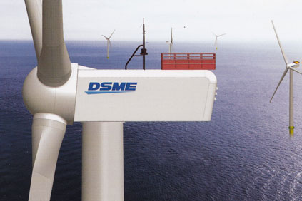 The Daewoo 7MW turbine is unlikely to become reality