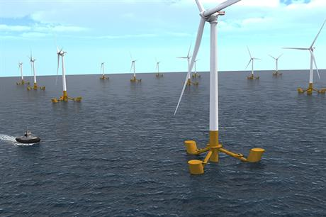 Eolfi and CGN will use GE Haliade turbines on DCNS-designed floating platforms