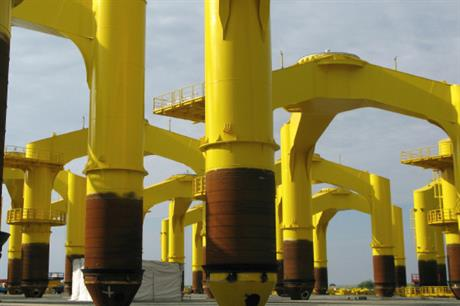 Bard's high cost tripiles incorporate three monopiles