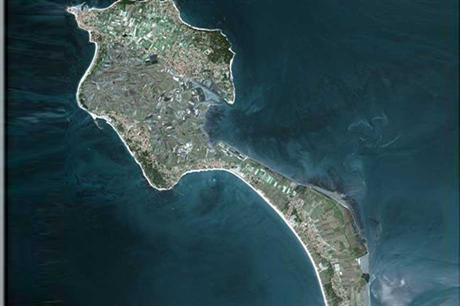 Noirmoutier Island, a location for France's offshore wind project (Pic: SPOT Satellite)