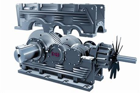 David Brown manufactures gearing systems for onshore and offshore turbines
