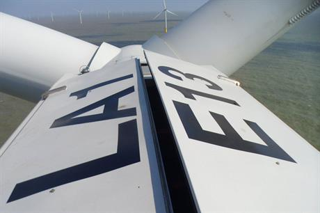 The 630MW London Array is the world's biggest operating wind farm (pic:Siemens)