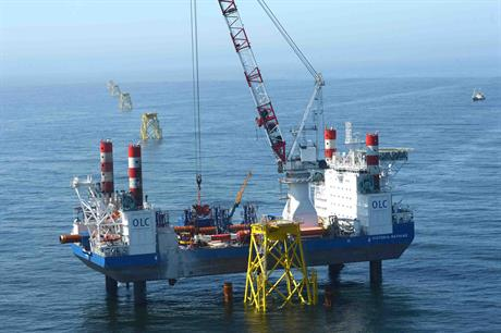 Test results could impact on the installation of the Nordsee Ost wind farm