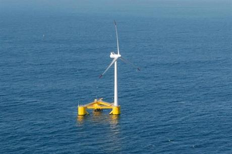 Principle Power installed a 2MW prototype of the WindFloat off the coast of Portugal in 2012