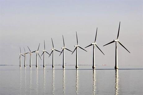 The Samso offshore wind farm comprises ten 2.3MW Bonus turbines