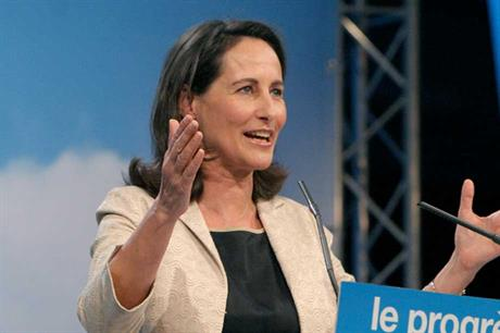 French energy minister Segolene Royal