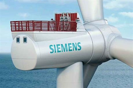 SWT 7.0-154 turbines are destined for 294MW Belgian North Sea project