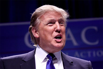 Trump... opposed to the Vattenfall-led project