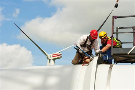 As turbines age, service needs grow (Pic:Repower/Jan Oelker)