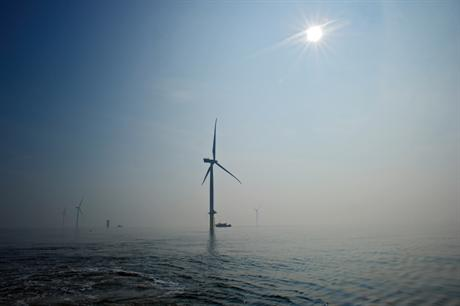 The 630MW London Array — the world's largest operational offshore wind farm