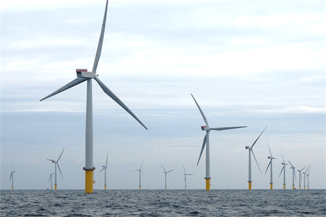 Economies of scale will help make offshore wind cheaper than onshore by 2035, according to UK government figures (pic: Innogy)