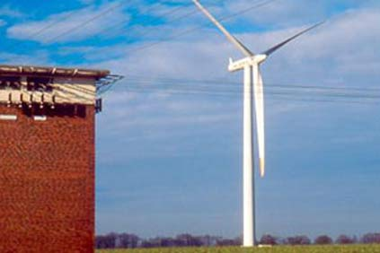 AN Bonus 2 MW turbines are being used in the project