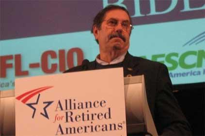 US Steelworkers president Leo Gerard