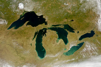 The Great Lakes: a number of projects have been delayed or cancelled