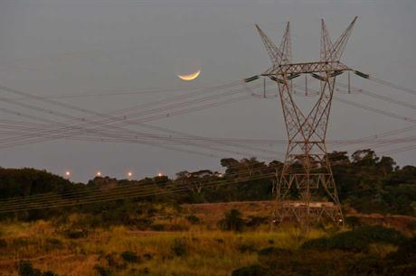 Power lines in Brazil... the country faces grid connection issues for wind