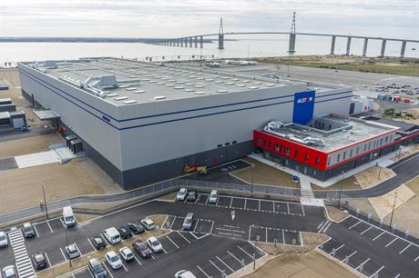 Alstom's new Haliade factory in Saint Nazaire, France