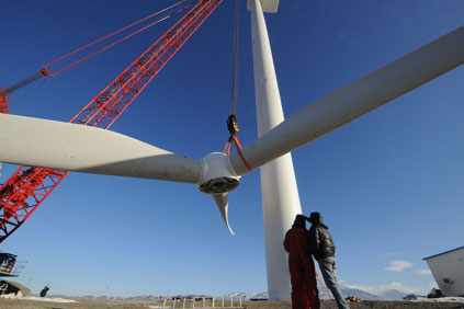Currently the 3MW Goldwind wind turbine is the largest on the Chinese mainland