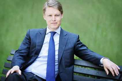 Looking offshore... Dong CEO Henrik Poulsen