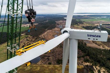 Medium-speed and modular: the first V150-5.6MW EnVentus turbine is now generating power