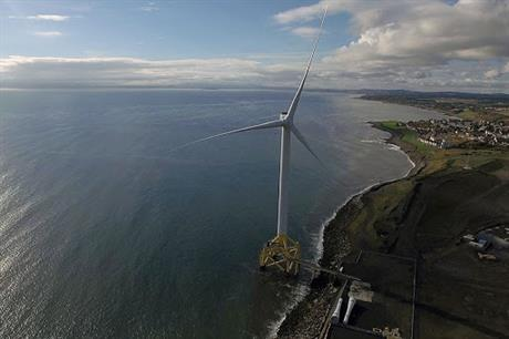 ORE Catapult's 7MW Levenmouth demonstration turbine in Fife, Scotland