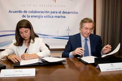 Acciona and Navantia sign the agreement in Puerto Real
