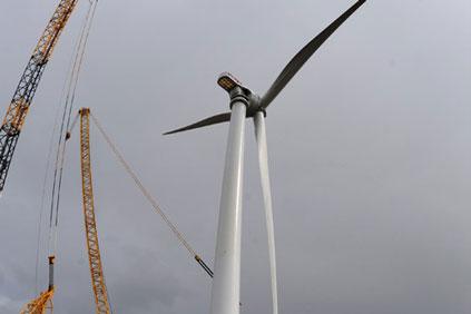 Alstom's 6MW Haliade offshore turbine