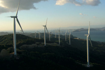 GE 2.5MW turbine...supplied to Scottish wind farm